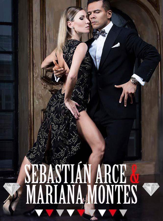 Sebastián Arce y Mariana Montes