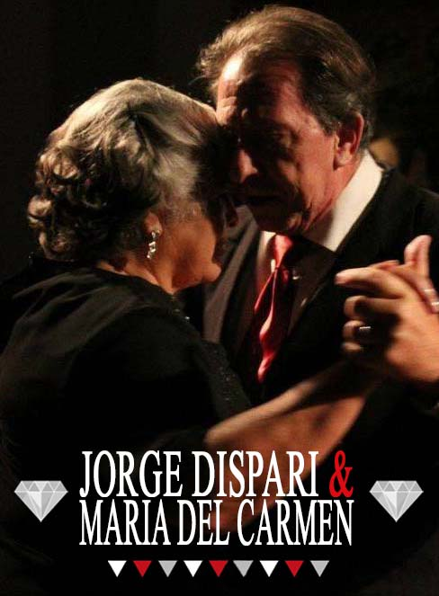 "María Del Carmen ""LA TURCA"" and Jorge Dispari"