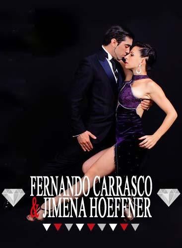 Jimena Hoefnner y Fernando Carrasco